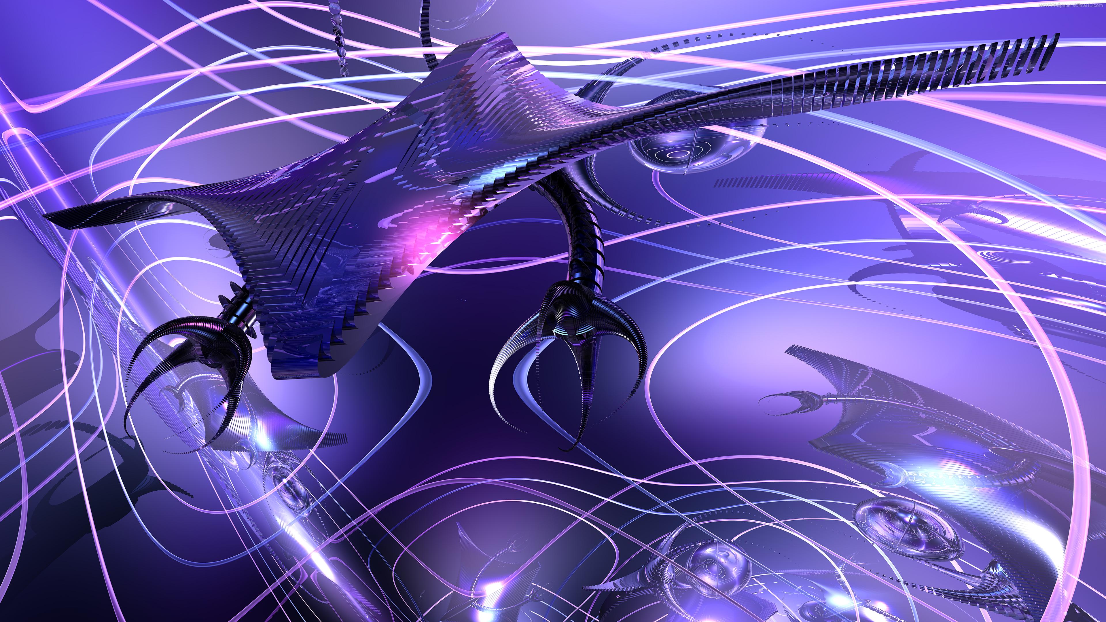 Wallpaper Robo Drone 4K version